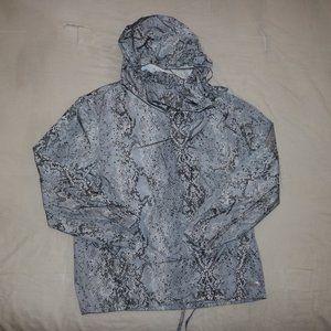 Calvin Klein Performance Snake Skin Pattern Jacket